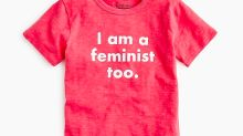 J.Crew's new 'I am a feminist too' boys T-shirt has divided the Internet