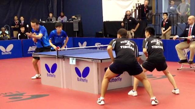 College Table Tennis Heats Up U.S. Ping Pong