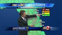Hot, humid weekend expected