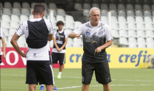Contra a vontade de Dorival, Santos pode ser obrigado a poupar titulares