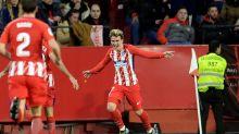 Atlético de Madrid golea 5-2 en Sevilla y sigue la estela del Barça