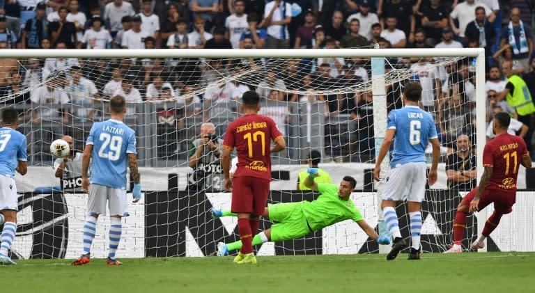 Lazio, Roma settle for derby stalemate
