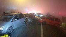 Ocho personas mueren en Brasil en un accidente de tráfico causado por un incendio
