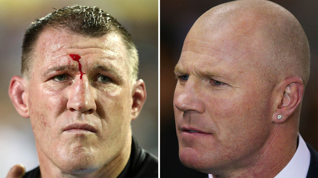 'NRL is by far tougher': Paul Gallen takes dig at AFL ahead of Barry Hall fight