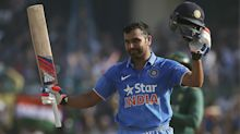 LIVE: Rohit century keeps India on track