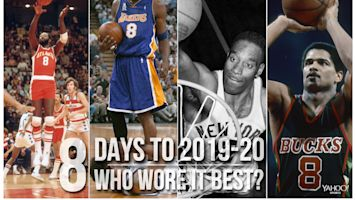 Countdown: Who wore the No. 8 best?