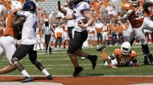 TCU upsets No. 9 Texas, 33-31, leaving Oklahoma State as the lone undefeated Big 12 team