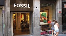 Fears over Trump's China tariffs disrupting supply chains are rocking shares of watchmaker Fossil right now