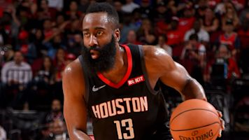 Harden explodes for 61, tying career high