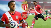 Ryan Bertrand 'in talks with Arsenal, AC Milan and Monaco'