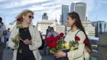 Muslims hand out thousands of flowers at scene of London Bridge terror attack