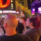 Crowd Cheers as Casinos Reopen in Las Vegas