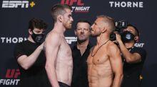 UFC Vegas 32 start time, who is fighting tonight at 'Dillashaw vs Sandhagen' in Las Vegas