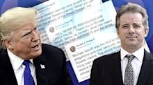 Trump cites Yahoo News' Michael Isikoff in claiming vindication on 'Steele dossier'