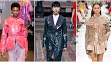 Plastic Is A Thing At Balenciaga, Valentino, Acné, Isabel Marant And More