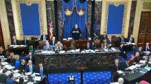 """""""Impeachment"""": Bataille au Sénat américain sur le format du procès de Donald Trump"""