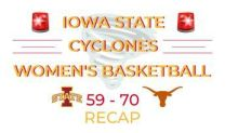 Iowa State shoots cold, falls to Texas at Hilton