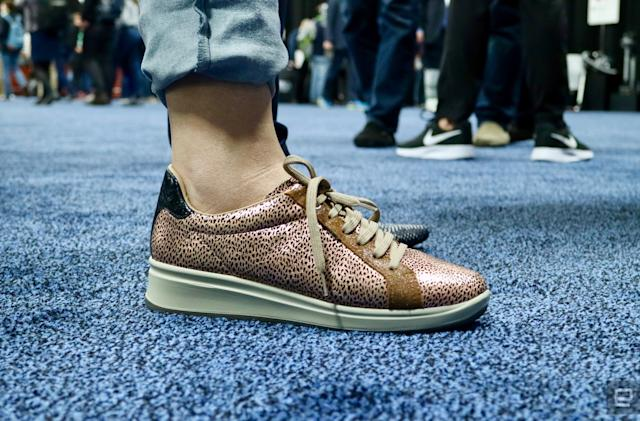 These smart shoes alert you if your grandma falls