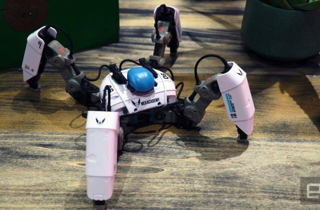 MekaMon is an anime-styled battle bot you pilot with your phone