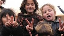 Syria Violence: Families Flee from Fighting