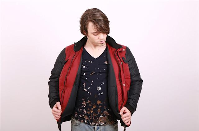 With this self-drying jacket, your Marty McFly costume is complete