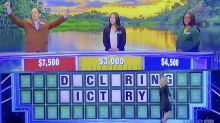 Wheel Of Fortune contestant's stunning fail at 'declaring victory'