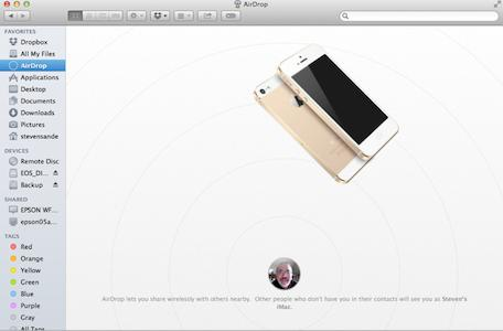 Alternatives to AirDrop between iPhone and Mac
