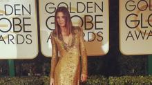 Mar Flores también estuvo en la gala de los Globos de Oro