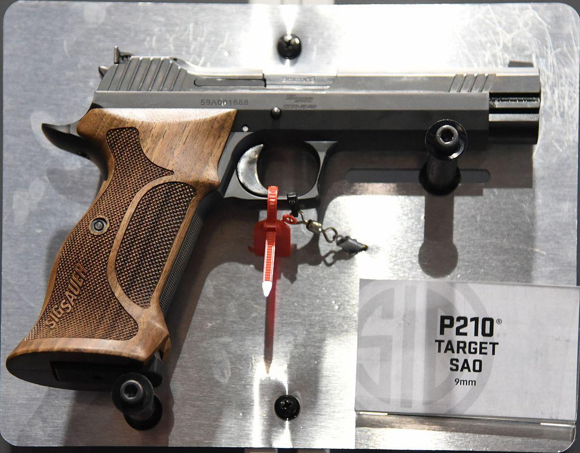 Sig Sauer P210 This Gun Should Demand Your Respect For 1 Reason