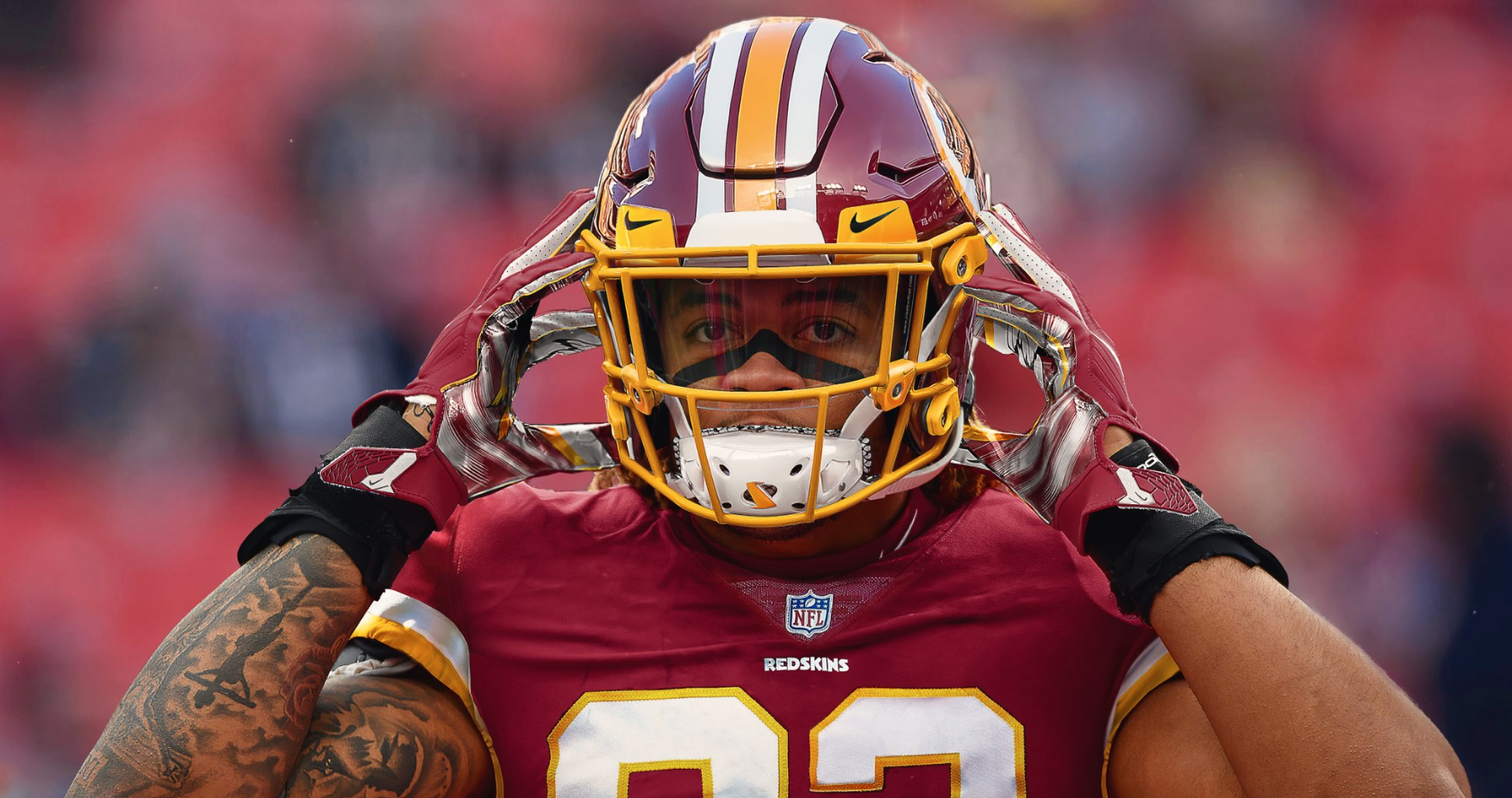 This Incredible Chase Young Jersey Swap Lit Up Redskins Twitter Here S How It Was Made