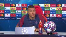 Foot - C1 - PSG : Mbappé : «J'ai toujours dit que je voulais marquer l'histoire de mon pays»