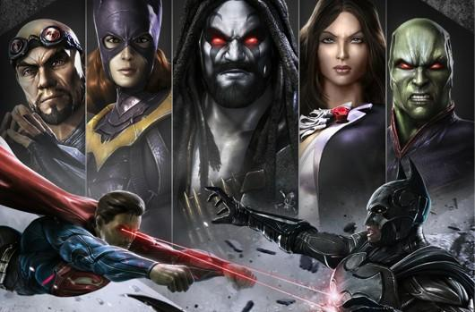 Injustice: Gods Among Us Ultimate Edition coming to PS4