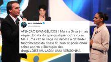 Silas Malafaia e aliados de Bolsonaro atacam discurso Marina Silva após confronto na RedeTV!