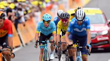 Adam Yates' time in yellow jersey ends on hectic day at Tour de France