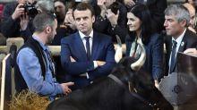 Macron au Salon de l'agriculture: une visite sous haute-protection