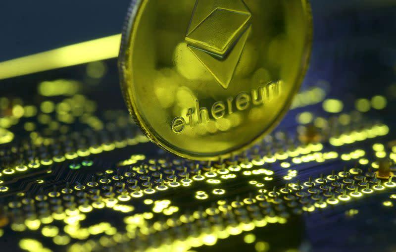 Smaller digital coins soar as bitcoin powers on towards record high