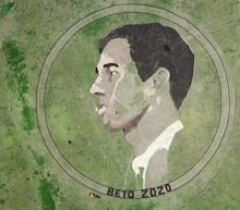 Artist creates 2-acre image of Beto O'Rourke