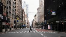 Silent streets and residents in exile - inside New York's Covid state of mind