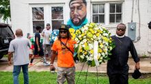 Protesters gather in Elizabeth City despite rain, demanding justice for Andrew Brown Jr.