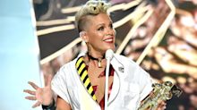 Pink at the VMAs and 5 other times she said something awesomely inspirational
