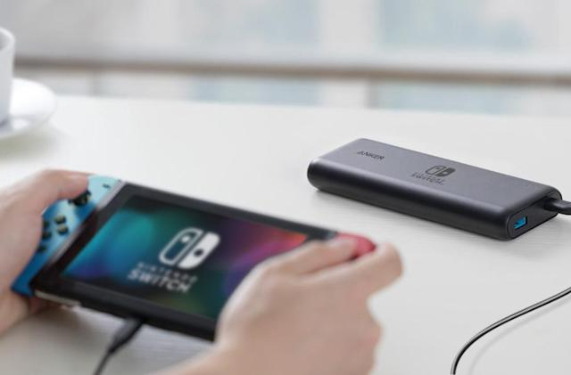 Anker built two Nintendo Switch-optimized battery packs