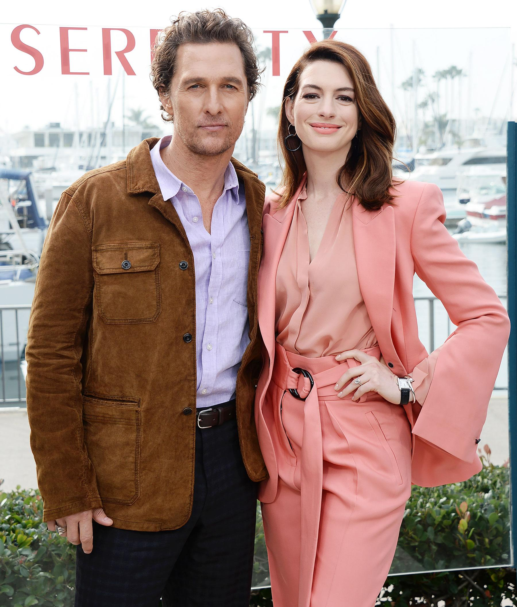 Anne Hathaway And Matthew Mcconaughey Movies: Matthew McConaughey Hurts His Back In Unusual Bed Injury