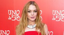 Lindsay Lohan's Mission to Help Syrian Refugees Continues