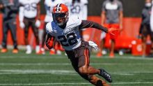 Browns rookie safety Delpit carted off with Achilles injury