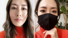 MasterChef's  Melissa Leong stuns in 'sickeningly chic face mask'