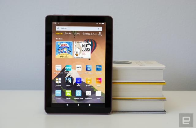 Amazon Fire HD 8 review: A good, cheap tablet with one big compromise