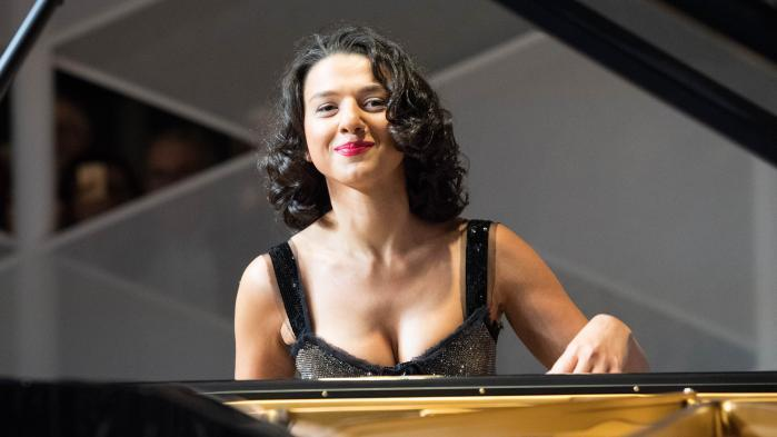 Pianistin Khatia Buniatishvili