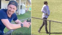 Patrick Dangerfield's hilarious stitch-up of 'peacocking' journo
