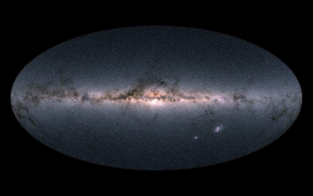 Pervious estimates put the mass of the Milky Way ranging between 500 billion and 3 trillion times the mass of the Sun