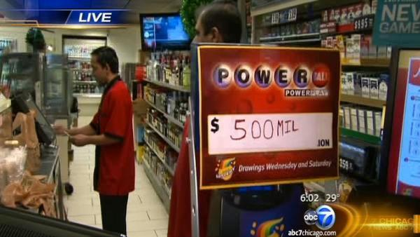 Powerball fever increases jackpot to $550M for drawing Wednesday night
